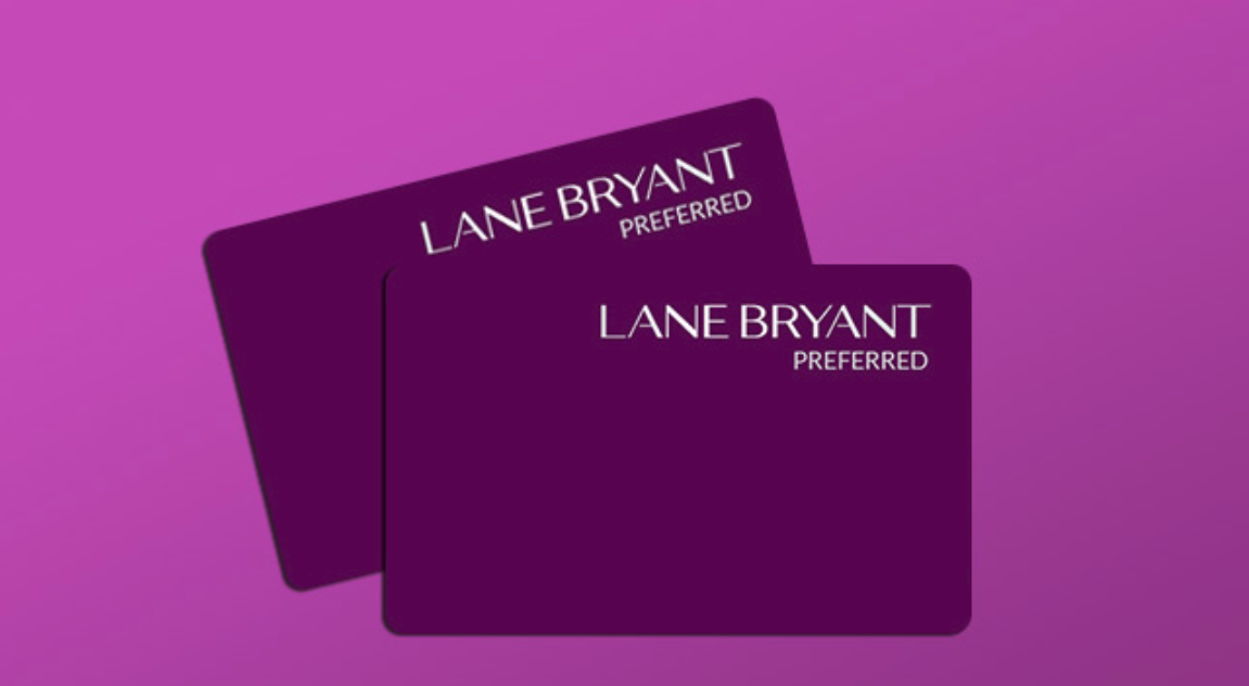 lane bryant credit card login