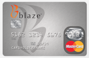 The Blaze MasterCard Credit Card