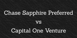 Chase Sapphire Preferred vs Capital One Venture