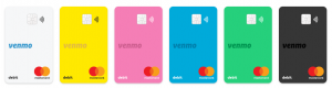 Venmo Card Color Options
