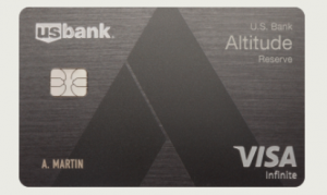Metal Engraved Altitude Reserve Card