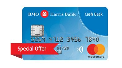 Picture of the BMO Harris Cash Back MasterCard