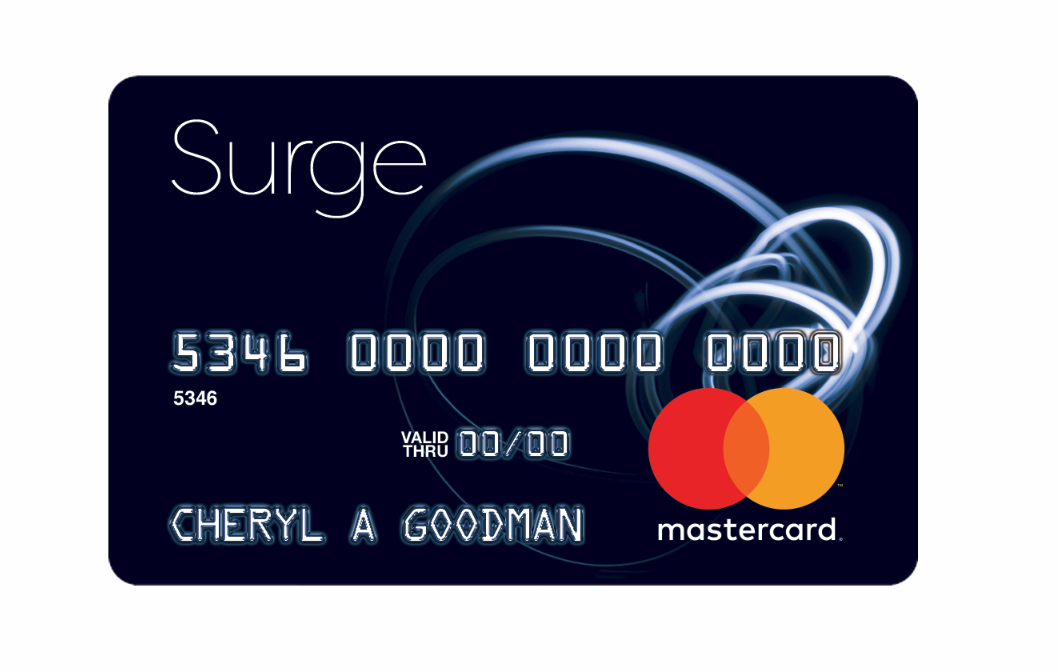 www surge credit card