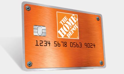 Picture of the Home Depot Credit Card